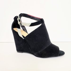 Joe's Jeans Suede Leather Wedges Heels